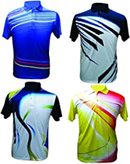 Sublimation Sports T-Shirts (Combo Of 4) _AS0045