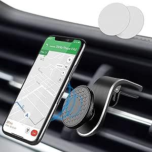 Modohe Supporto Cellulare Supporto Magnetico per Auto per Presa d'Aria per Supporto da Auto per Cellulare per iPhone11 XR XS Max X 8 7 6s Plus Moto G6 Samsung S10 Huawei P40 Pro Xperia GPS, ecc.