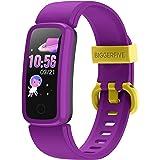 BIGGERFIVE VIGOR Fitness Tracker för Barn Flickor Pojkar Tonåringar, Aktivitetsmätare Stegräknare med Pulsmonitor och Sömnskä