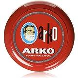 Arko Shaving Soap in Bowl, Red, 90 gram