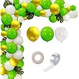 Party Propz Jungle Safari Theme Birthday Party Supplies Balloon Garland Kit - 102Pcs Favors for Kids Boys Birthday Baby Showe
