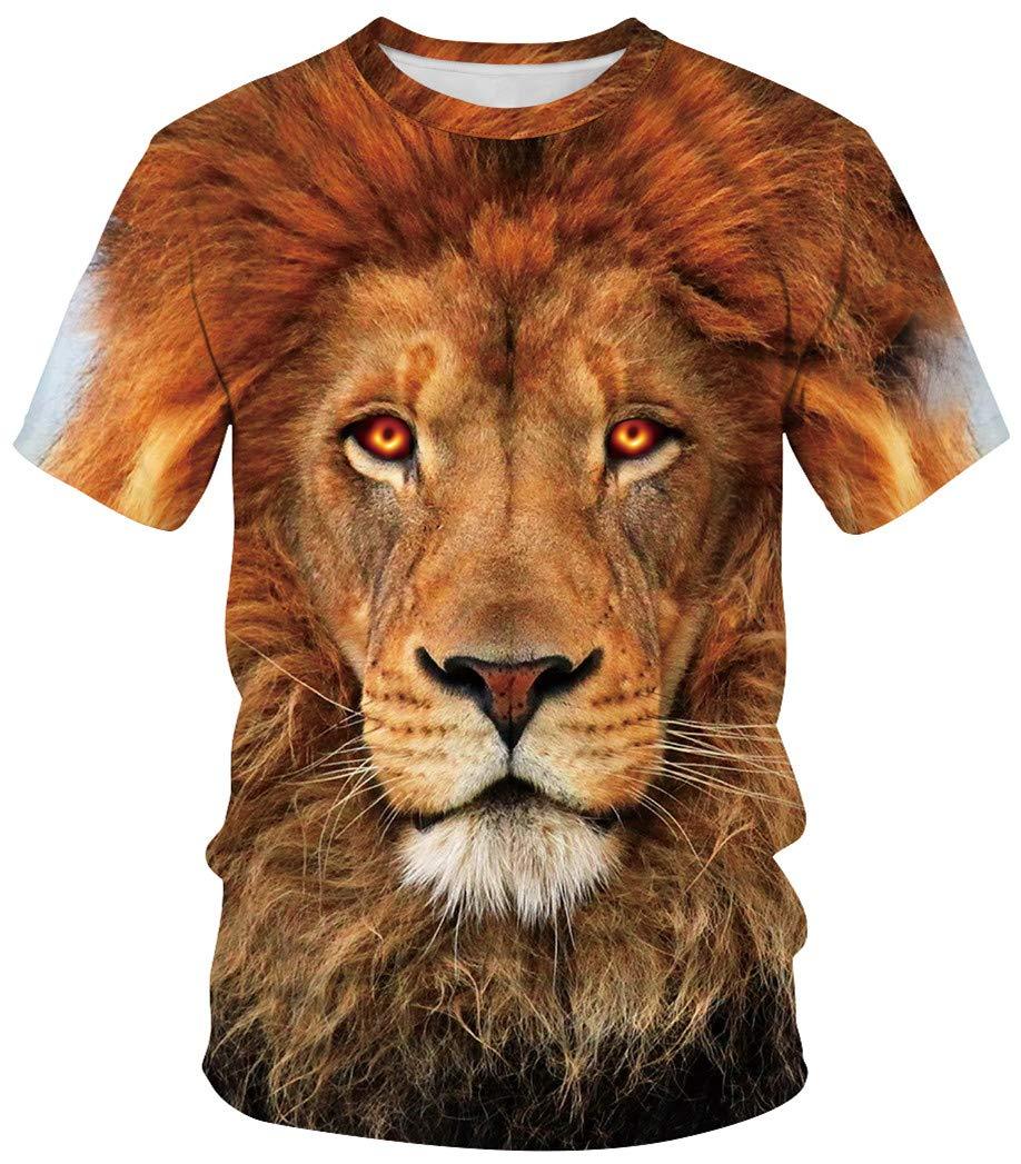Ocean Plus Hombre Deportes Camiseta Colorido Unisexo Camiseta de Secado Rápido Cuello Redondo Impresión Mirada de Pareja Cuántico Manga Corta Agujero Negro Tops