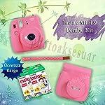 Fujifilm Instax Mini 9 Ekonomik Kit (PEMBE)