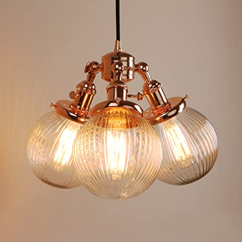 Pathson Industrial Modern Vintage Loft Bar Lights Pendant - Bedroom light fittings uk