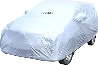 Amazon Brand - Solimo Toyota Innova Waterproof Car Cover (Silver)