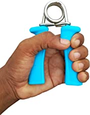 The YoYo Mart Power Grip, Hand Grip , Plastic Power Gripper, Hand Gripper (Pack of 2) | Hand Grip Strengthener, Finger Gripper, Hand Grippers, Quickly Increase Hand Wrist Finger Forearm Strength, Perfect for Musicians Athletes and Hand Rehabilitation Exercising Random Color