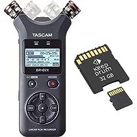 Tascam DR-07X Audio-Recorder + Speicherkarte 32 GB