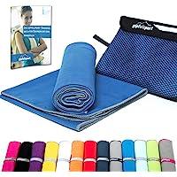 Mikrofaser Handtuch Set - Microfaser Handtücher für Sauna, Fitness, Sport I Strandtuch, Sporthandtuch I 1x XS(50x30cm) I…