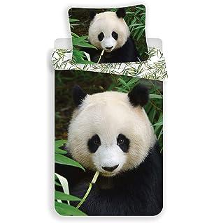 90/x 190//200 Matt /& Rosa Panda Lenzuolo con Angoli Bianco 100/% Cotone