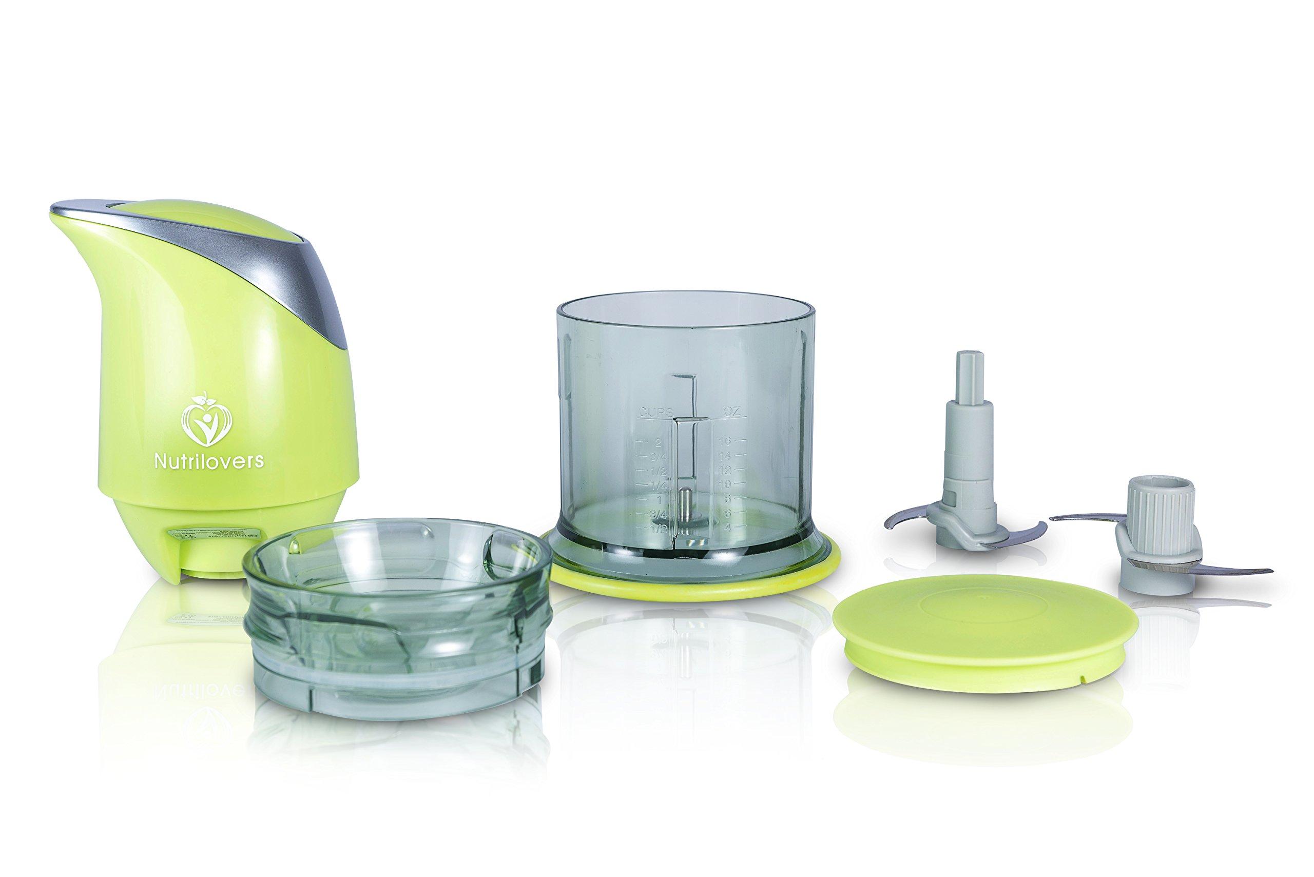 NUTRI-CHOPPER-Multizerkleinerer-elektrisch-Universalzerkleinerer-fr-Nsse-Zwiebel-Obst-Gemse-Fleisch-400-Watt-Zerkleinerer-4-Klingen-Edelstahl-Mixbehlter-500ml