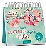 Postkartenkalender In den kleinen Dingen liegt das Glück 2020 - Wochenkalender mit abtrennbaren Postkarten…