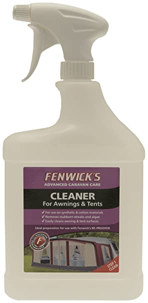 Fenwicks Awning and Tent Cleaner - Off-White 1 Litre  sc 1 st  Amazon UK & Fenwicks Awning and Tent Cleaner - Off-White 1 Litre: Amazon.co ...