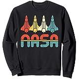 Vintage NASA Gift - Retro Space Shuttle Sweatshirt