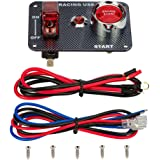 Semoic Auto Car Part 6-Way 6 Relays with Relay Box 12 Blade Fuses Waterproof for Cars Automotive Marine Boats