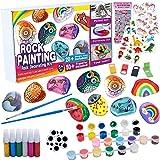 Tacobear Piedras Pintar Juegos para Niños Manualidades DIY Kit Juguetes de Pintura Creativo Regalo Manualidades para Niño Niñ