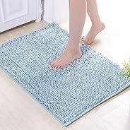 Therecoe86 Bathroom&Bedroom Carpet,Bathroom Kitchen Anti-slip Doormat Floor Mat Carpet Water Absorbent Rug Decor - Random Co