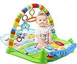Ole Baby Rainforest Soft Mat Activity Play Gym Toy (Multicolour)