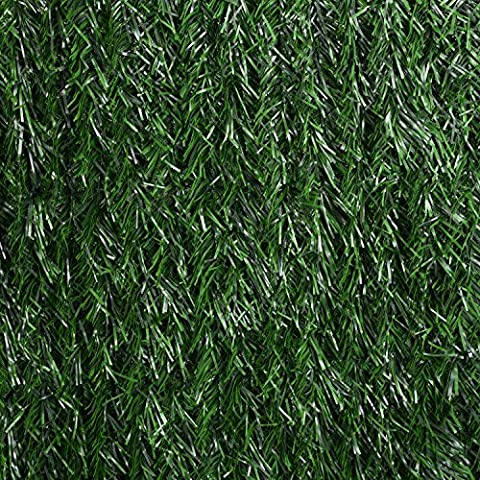 Artificial Conifer Leaf Hedge Roll Screening Privacy Screen Garden Fence