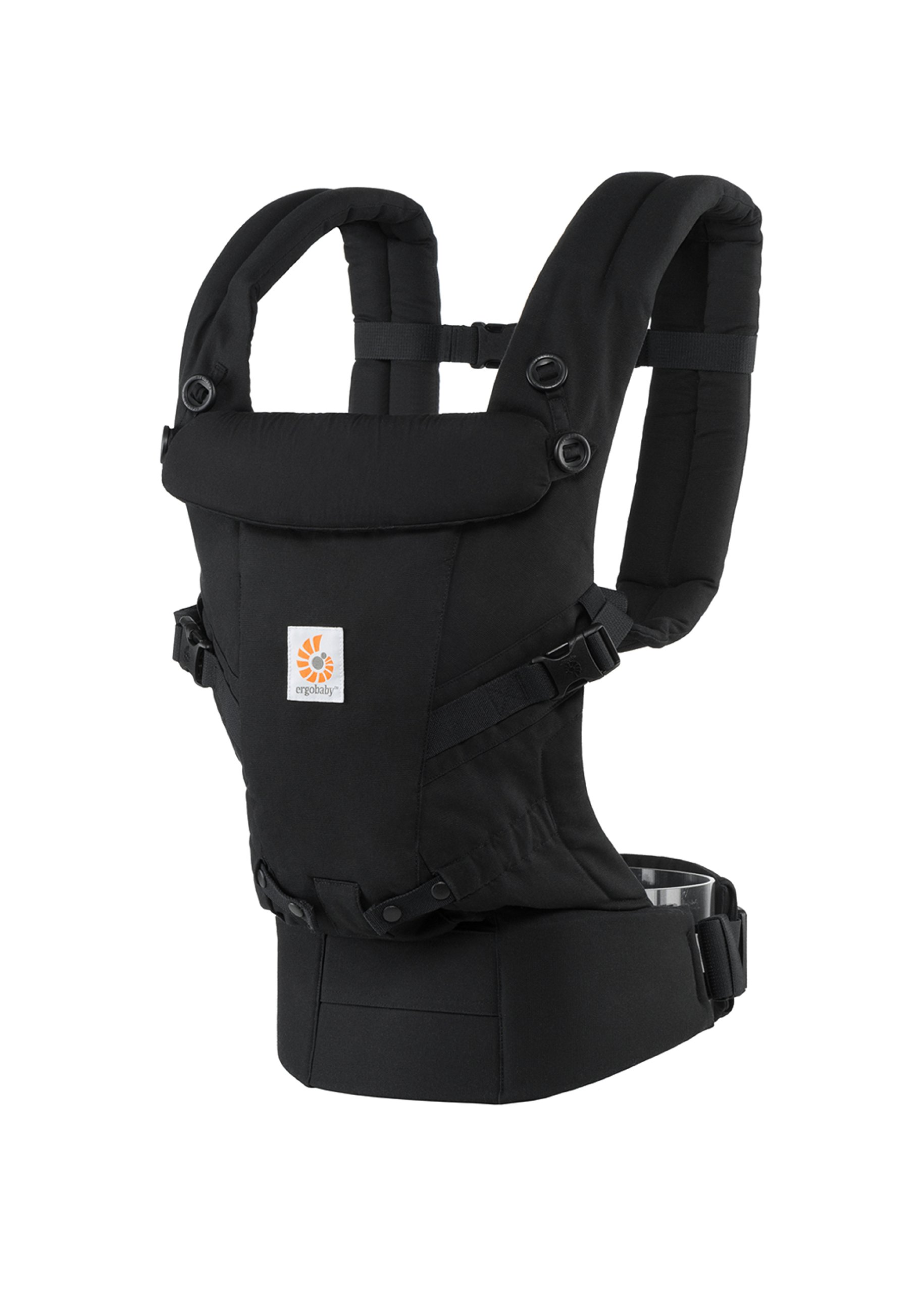 ErgoBaby Adapt Baby Carrier Black Ergobaby Adapt to Every Baby Easy. Adjustable. Newborn to toddler. 2