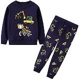 JinBei Conjuntos Deportivos para bebé Niño Niña Chándales Conjunto Sudaderas Sweater Pantalones Ajustable Cinturón Algodon Ot
