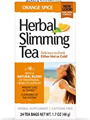 21st Century Herbal Slimming Tea - Orange 24 Bags