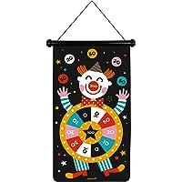 Janod - Jeu de Fléchettes Magnétiques thème Cirque - Recto/Verso - Jeu d'Adresse - Apprentissage Agilité et…