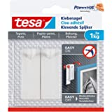 tesa Adhesive Nail for Wallpaper & Plaster 1 kg, wit