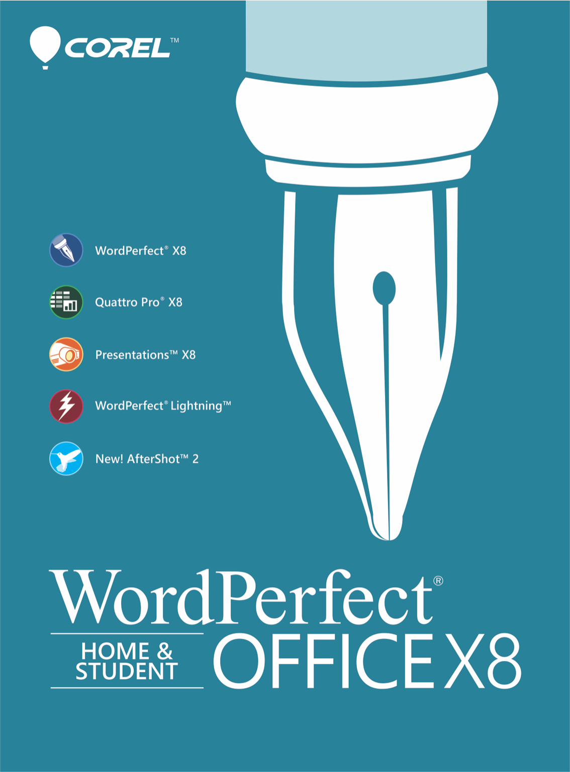 WordPerfect Office X8 Home & Student