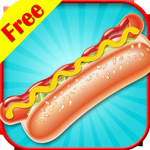 Kochen Hot Dogs (Hot Dog Maker - Kostenlose Spiele für Kids gratis)
