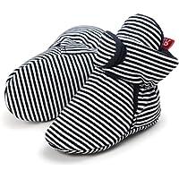 LACOFIA Scarpe Antiscivolo con Suola Morbida per Neonato o per Bambina Stivali da Bambino d'inverno