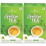 Neuherbs Green Tea Lemon Flavor for Weight Loss Management, Body Detox & Immunity booster-50 Tea Bags