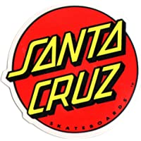 Santa Cruz Skateboard Logo Classique Sticker–Grand Skate Board Planche à roulettes de patinage