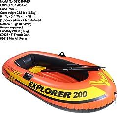 VW INTEX Explorer Fun Boat (200 Boat)