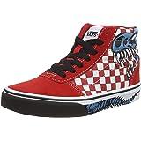 Vans Ward Hi Suede/Canvas Sneaker, Hombre