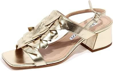 ALBERTO GOZZI F9538 Sandalo Donna Platinum Scarpe Shoe Woman