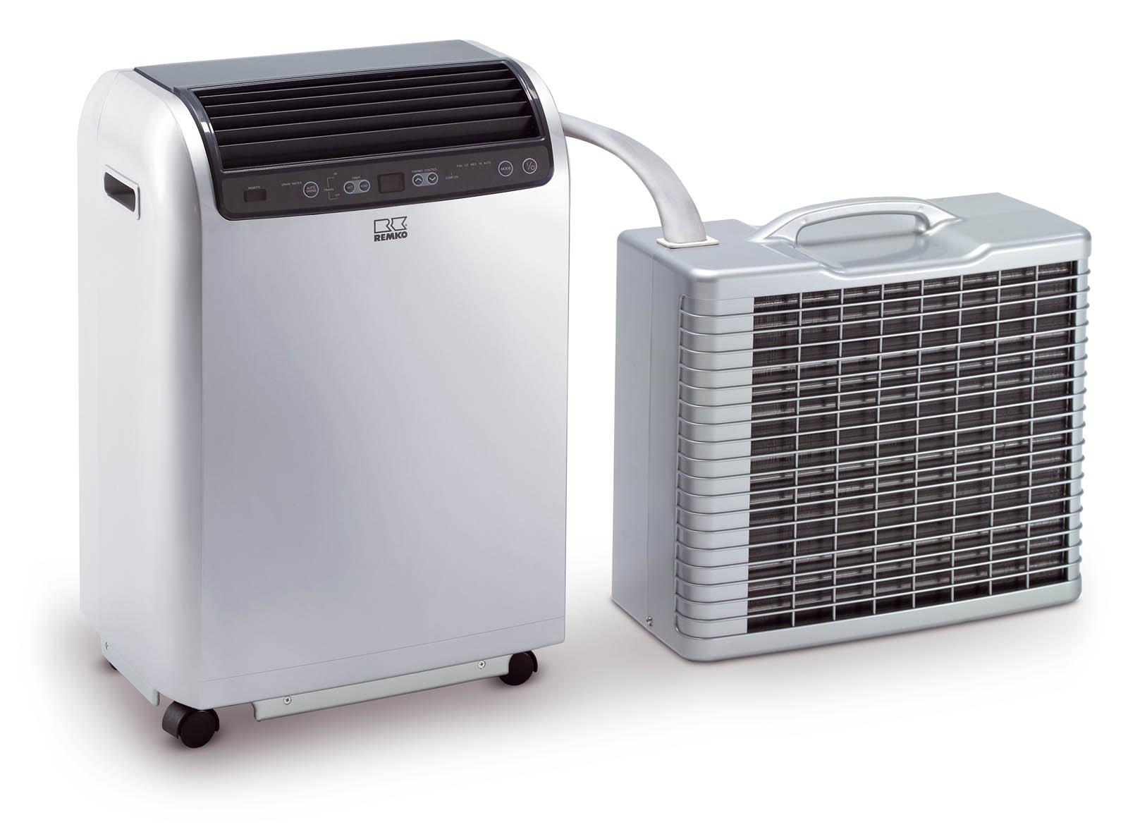 Remko Split Klimagerät RKL 491 DC, mobile und effiziente Klimaanlage, Einsatzbereich 120 qm, hohe Kühlleistung von 4.3…
