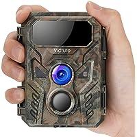 Victure Mini Caméra de Chasse 16 MP 1080p avec Vision Nocturne Avancée Activée par Mouvement IP66 étanche pour…