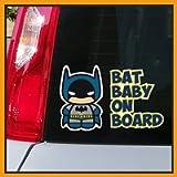 Adesivo BABY ON BOARD per auto - Bebè a bordo/Bebè In Car Decalcomanie Etichetta Sticker adesivo divertente supereroi…