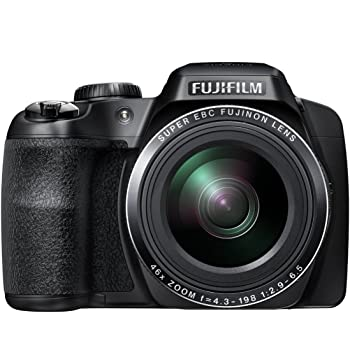 Fujifilm FinePix S8500 16MP Point and Shoot Digital Camera (Black) with 46x Optical Zoom