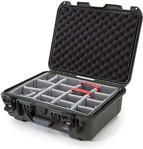 Nanuk 930 Hartschalenkoffer Mit Gepolsterten Trennwänden Wasserdicht Olivgrün