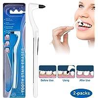Zahnsteinentferner Professionelle Zahnreinigung, Zahnsteinentfernung Entfernt Plaque & Verunreinigungen für Weiße Zähne, Zahnreinigung Interdentalbürsten Zahnpolierer-Effektive Zahnarztbesteck,2-Pack