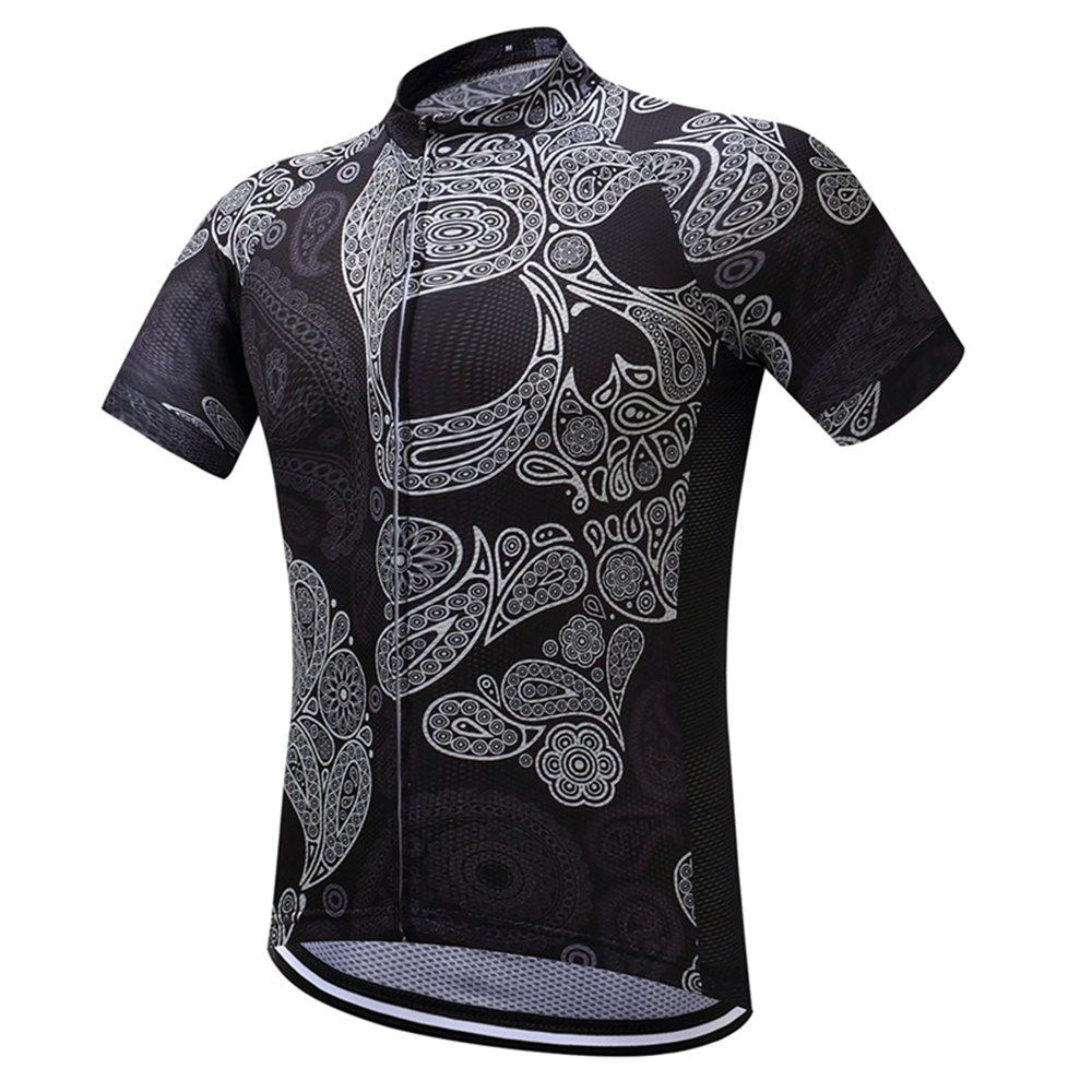 TeyxoCo Top Uomo Cycling Jersey Top Fashion XXXL
