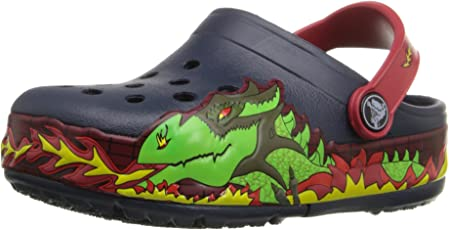 crocs CrocsLights Fire Dragon Clog K Boys Slip on