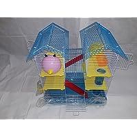 Lovely PET'S Kingdom- Adventure Pet Cage Hamster Cage (Blue)
