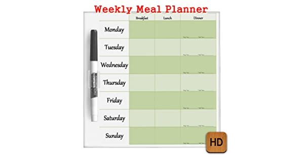 Weekly Meal Planner: Amazon.it: Appstore per Android
