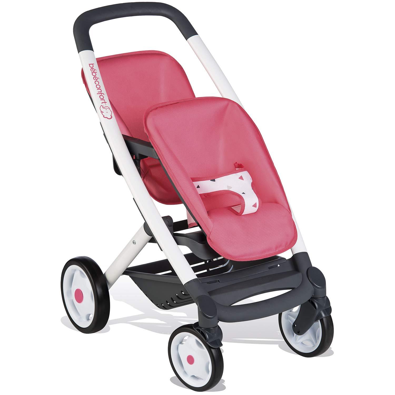 Silla gemelar de Bebé Confort  para muñecos (Smoby 253299)