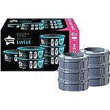 Tommee Tippee -Twist&click Sangenic Set de 6 Recharges