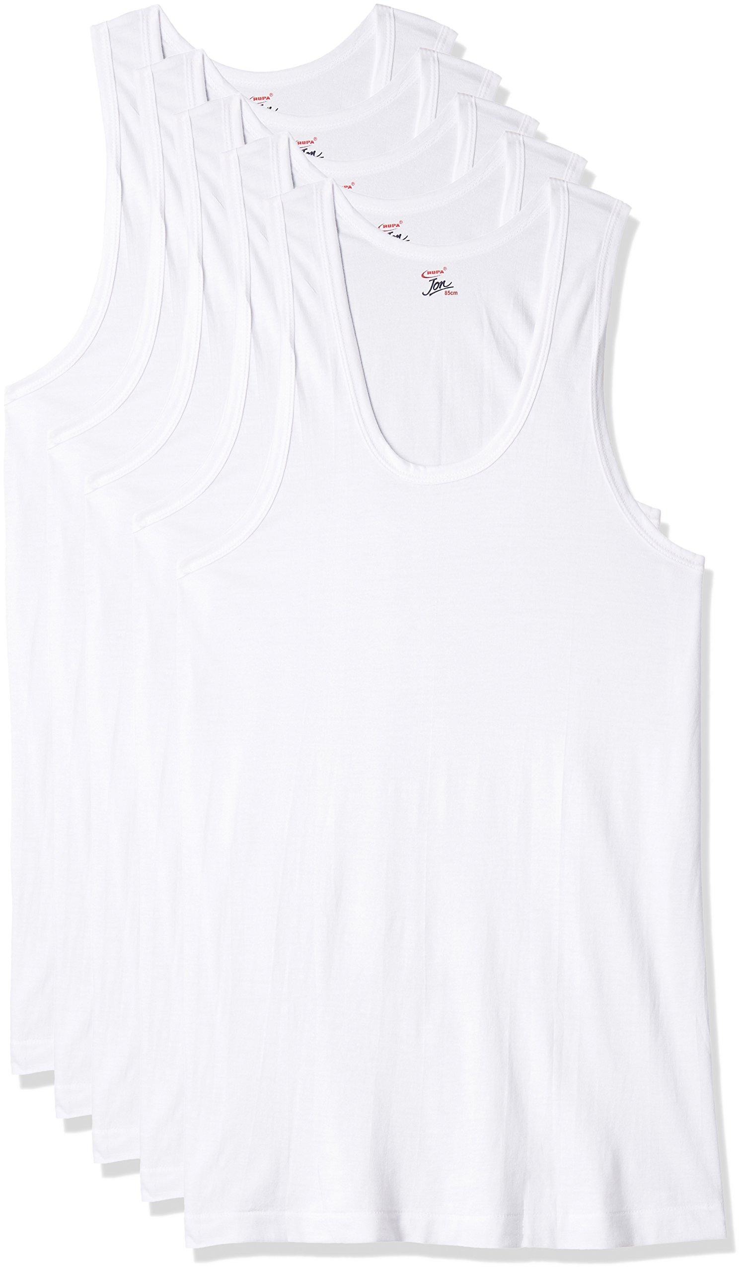 2e705e2470dc Rupa Jon Men's Cotton Vest (Pack of 5) | Buy Bestow