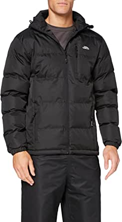 Trespass Clip Mens Heavyweight Winter Padded Jacket with Hood