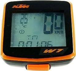 KTM Bike Computer II Team 7 Kabellos 7 Funktionen Fahrradcomputer ( K-81503 )